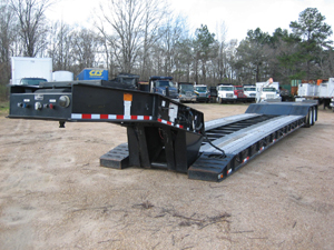 Lowboy, Lowboy Trailer, Float, Detachable Trailer, Gooseneck