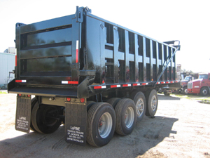 ITI 24X96X56   QUAD-AXLE STEEL DUMP TRAILER