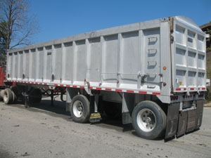 TRAILKING 40X96X78    ALUMINUM DUMP TRAILER