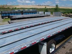 Picture of LaPine's Transcraft Flatbed Trailer Stock.