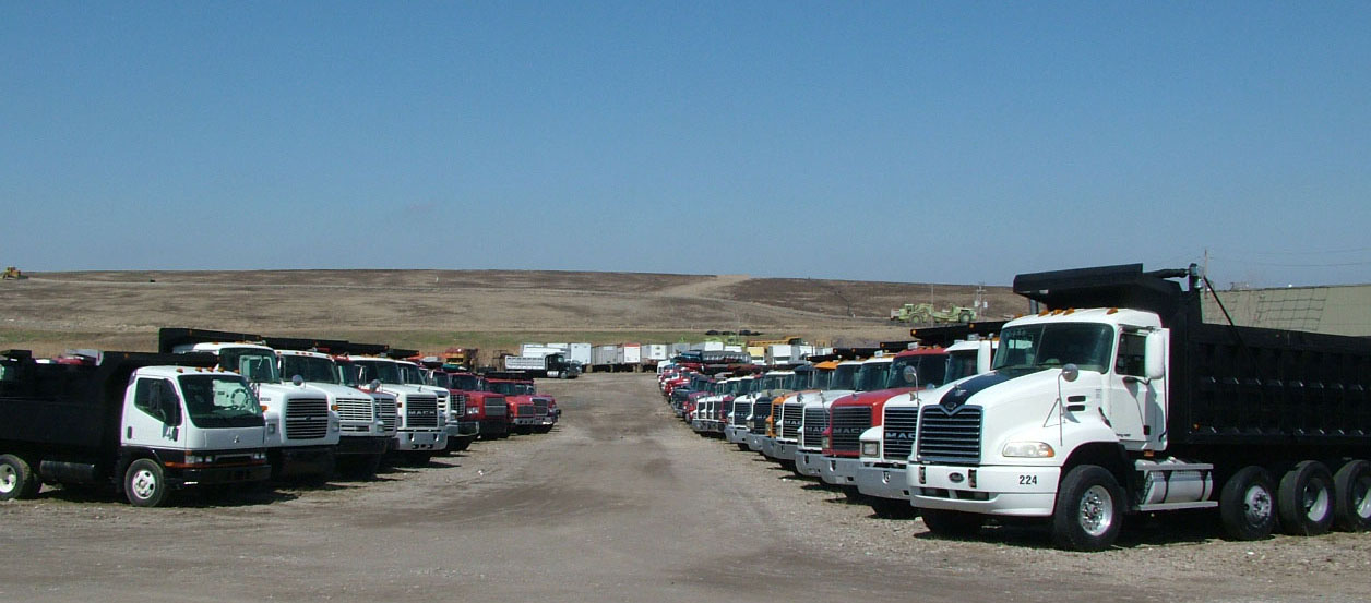 Picture of LaPine's Dump Truck Stock.