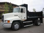 Single Axle Mack Dump Truck