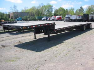 Picture of Walking Floor Trailers Stock.